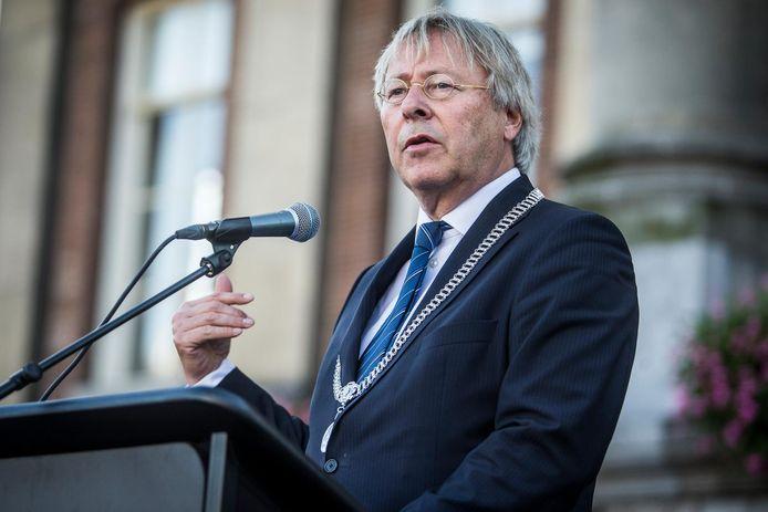 Burgemeester Peter den Oudsten van Groningen