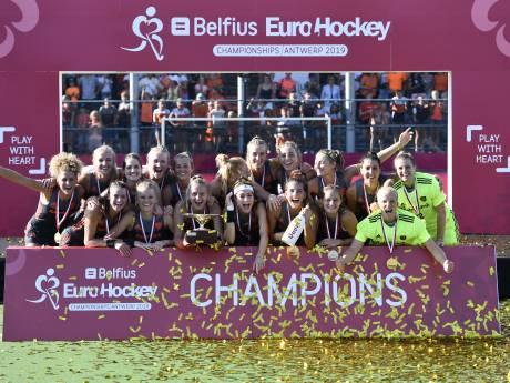 EK-goud en olympisch ticket voor hockeysters na zege op Duitsland