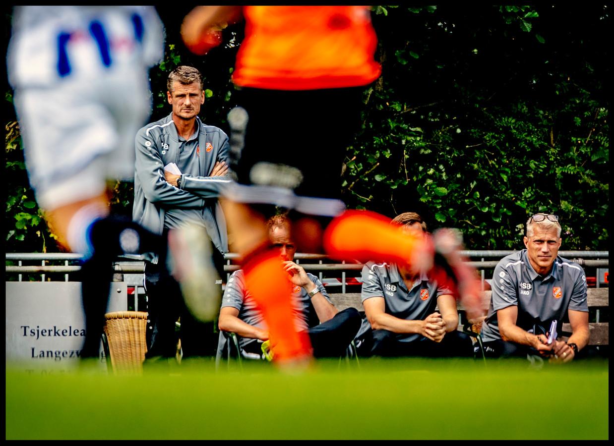 Wim Jonk begint bij FC Volendam aan zijn eerste klus als hoofdtrainer.