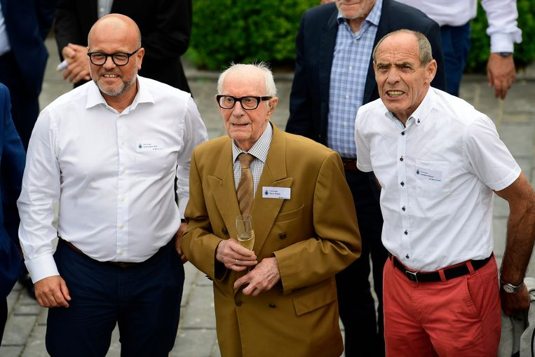 Bart Verhaeghe, André Piccu en Raoul Lambert.