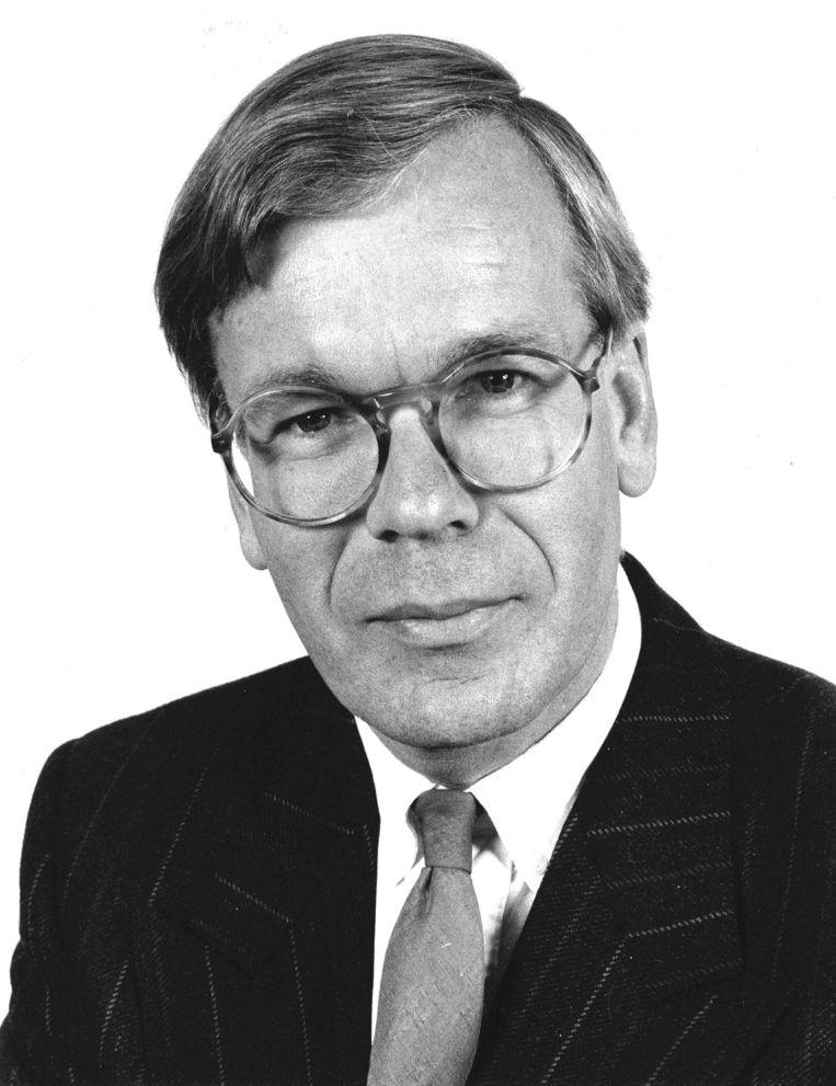 Tjeenk Willink in 1987, toen hij als regeringscommissaris reorganisatie Rijksdienst een notitie schreef over de roep om vernieuwing. Beeld Hollandse Hoogte /  ANP