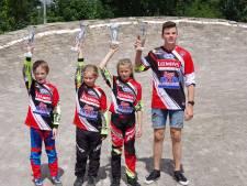 Nijverdalse Lochsprinters: vier districtskampioenen