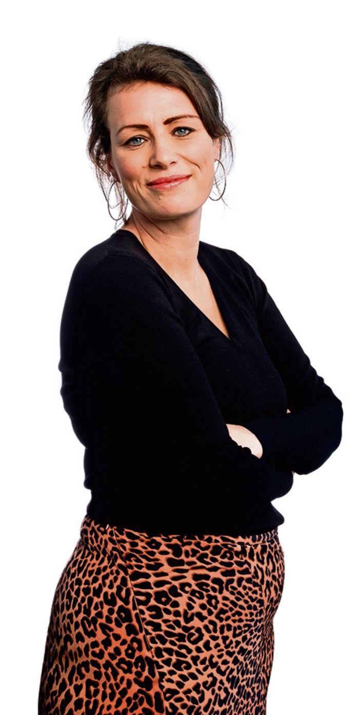 Portret van columnist Linda Akkermans.