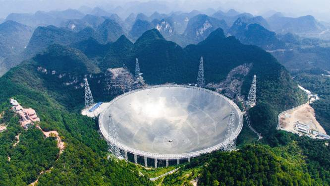 Grootste radiotelescoop ter wereld nu ook opengesteld voor internationaal onderzoek