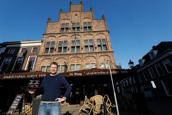 Roy Kappert bij De Waag in Doesburg.