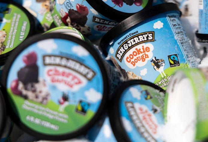 """Les glaces offertes sont au parfum """"pâte à cookies""""."""