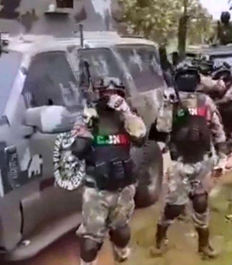 Drugskartel Mexico provoceert met video zwaarbewapend leger
