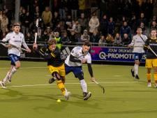 Bram van Groesen schikt zich in zijn rol bij HC Tilburg