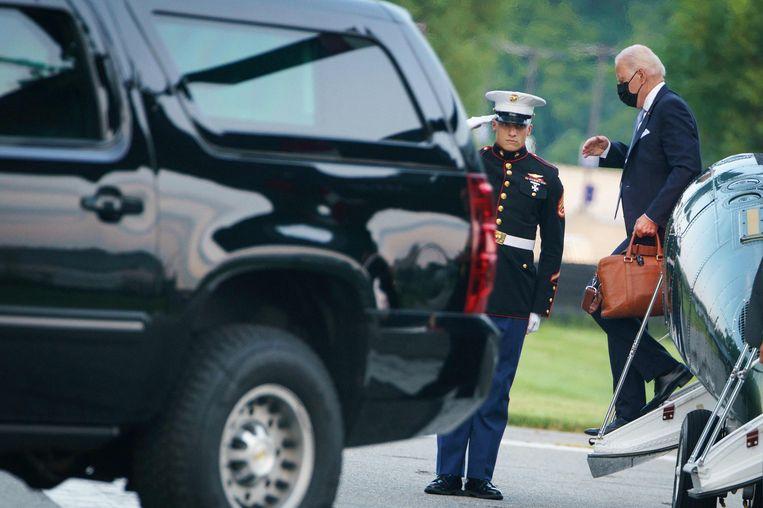 Joe Biden  Beeld AFP