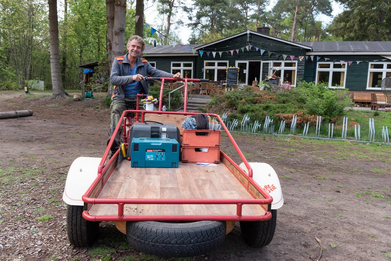 Beheerder Jan Hoogstraten van camping De ReCreatie in Leusden is ervan overtuigd dat de camping mag blijven bestaan.