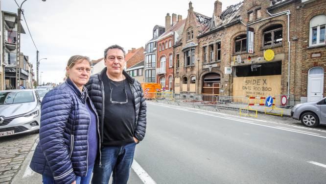 """Drie weken na verwoestende brand mag uitbater nog niet binnen in telecomwinkel: """"Maar ik kan toch niet bij de pakken blijven zitten?"""""""