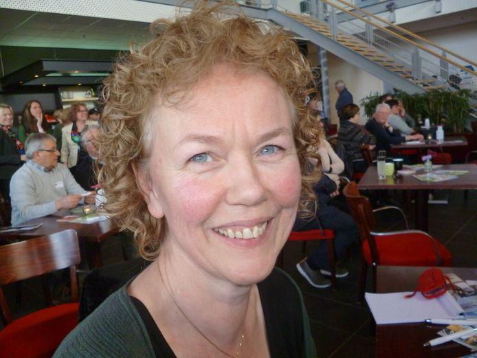 Gerdy Moolenaar uit Sint Oedenrode medewerkster van Omroep Meierij.