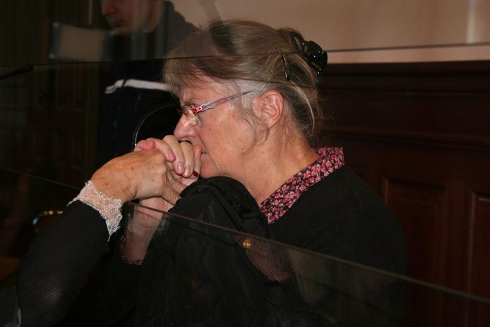 Jacqueline Sauvage, le 3 décembre 2015.