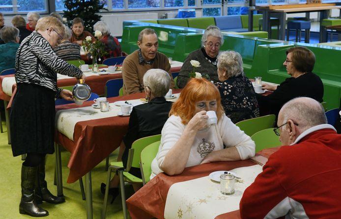 Kerst Inn in de aula van De Lingeborgh in Geldermalsen.