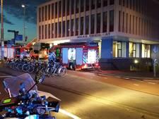 Brand in Maastorenflat in Rotterdam