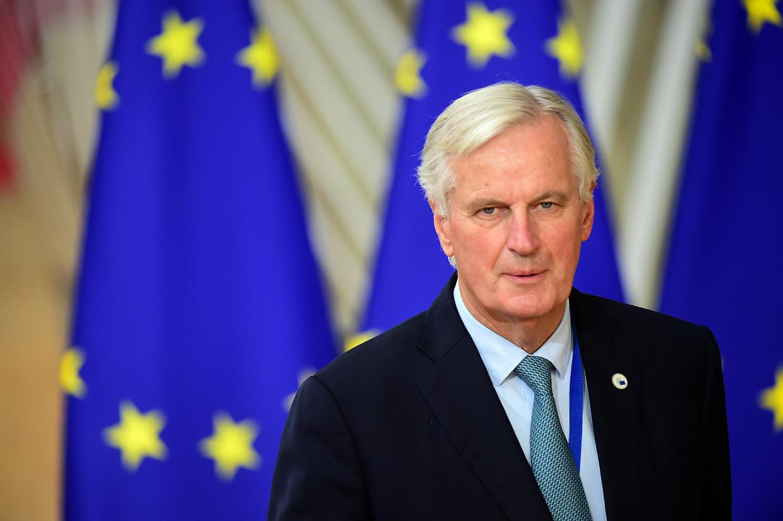 Ondanks jarenlange intensieve onderhandelingen met het Verenigd Koninkrijk heeft niemand Michel Barnier kunnen overtuigen van welke toegevoegde waarde ook van een brexit.  Beeld Getty Images