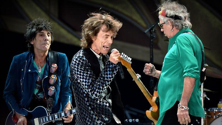 The Rolling Stones op Pinkpop in 2014. Beeld Marcel van den Bergh / de Volkskrant