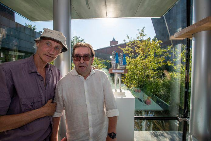 Renë Daniëls en Henk Visch met Prins Bernhard Cultuurprijs Eindhoven