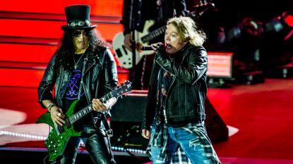 Geen extra-zacht toiletpapier, geen optreden: de extravagante rider van Guns 'N Roses