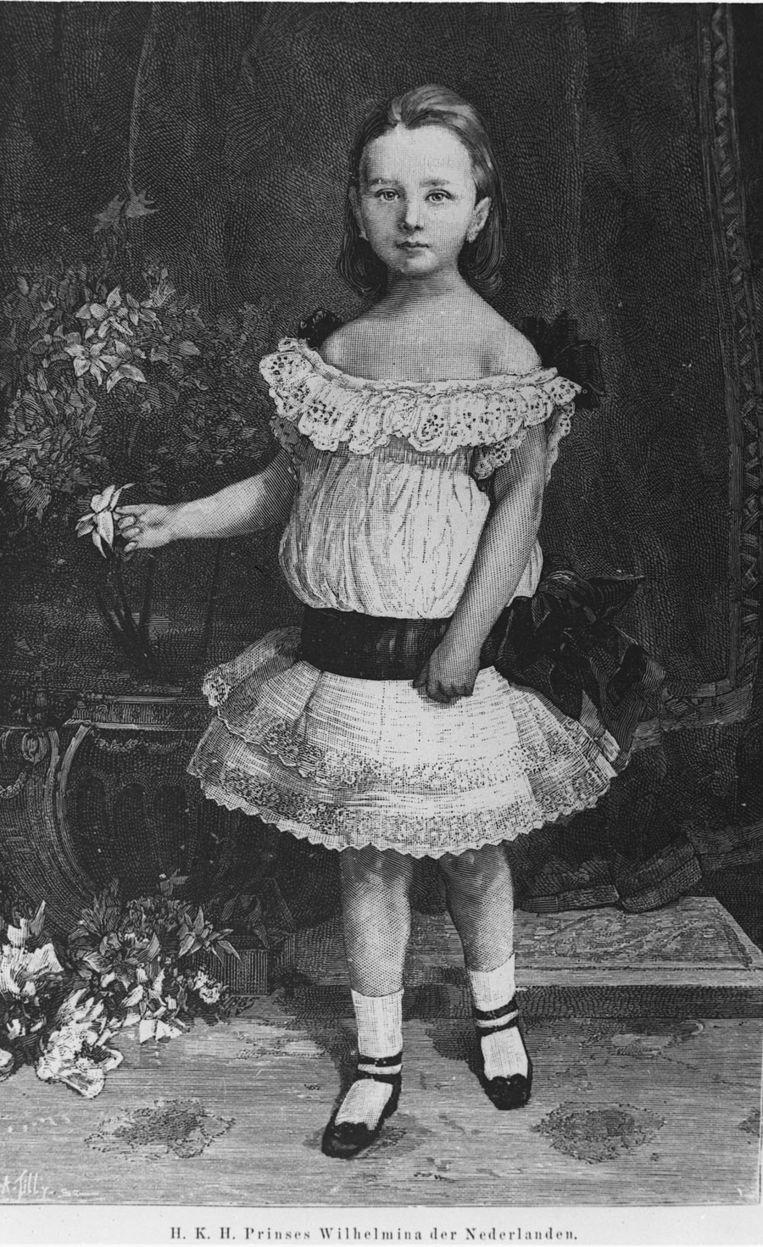 Portret van koningin Wilhelmina, afkomstig uit het ANP foto-archief. Beeld anp