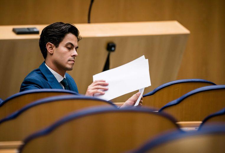 Rob Jetten (D66), na het vertrek van Pia Dijkstra, woordvoerder medisch-ethische kwesties van de fractie. Beeld Bart Maat/ANP