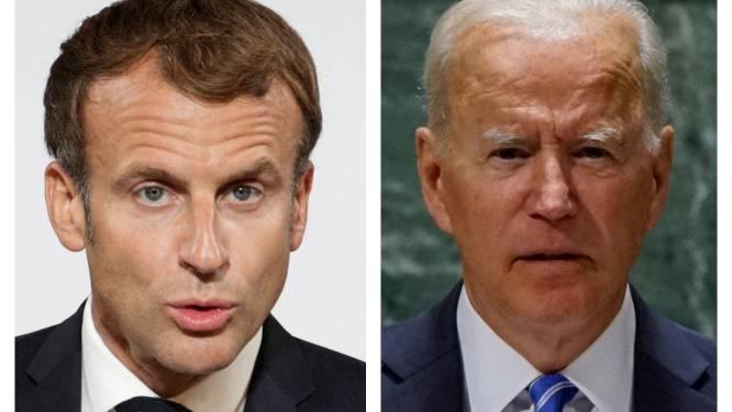"""Sous-marins: Macron et Biden promettent de restaurer """"la confiance"""""""