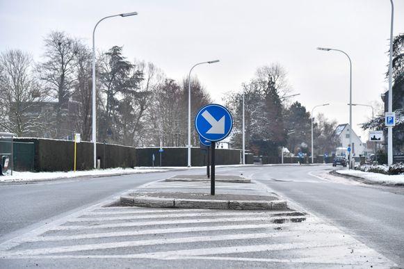 Voor de herstellingswerken zal het rijvak richting Dendermonde afgesloten worden voor het verkeer.