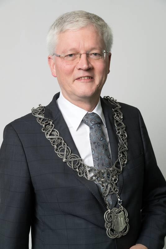 Burgemeester van Tilburg Theo Weterings.