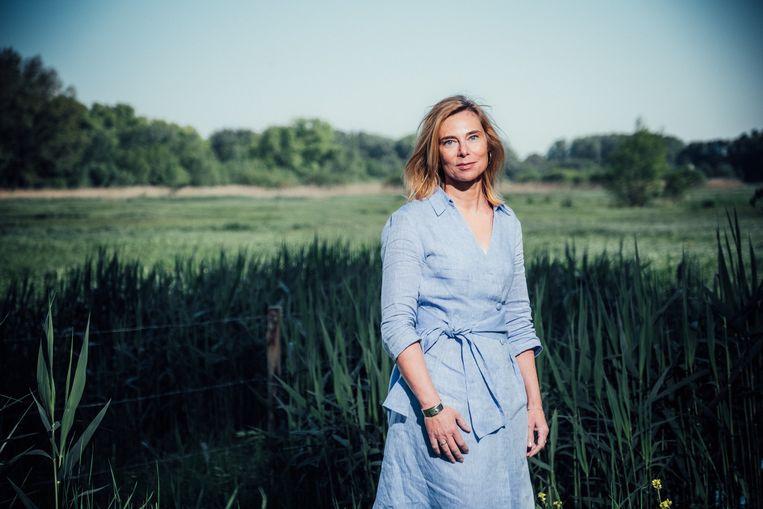Zedenmagistrate Myriam Claeys van het Oost-Vlaamse parket. Zij is een van de drijvende krachten achter de opleiding rond seksueel en intrafamiliaal geweld.  Beeld Wouter Van Vaerenbergh