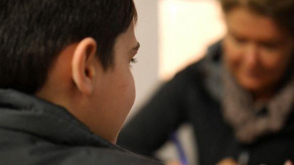 Deze Franse jongen werd door zijn vader naar Syrië meegenomen, maar verblijft nu in een detentiecentrum.