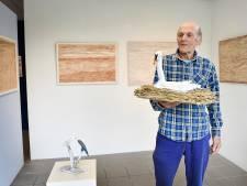 Jan Hein van Rooy maakt landschappen van aarde