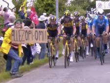 Voorwaardelijke celstraf geëist tegen 'Opi Omi'-vrouw die valpartij veroorzaakte tijdens Tour de France