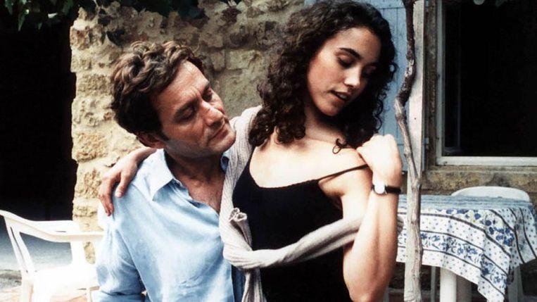 Didier Sandre en Alexia Portal in Conte d'automne van Éric Rohmer. Beeld