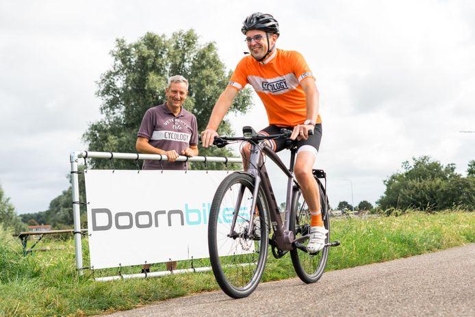 """Giesbekenaar Marco van den Boogert: ,,Ik heb een hele wielerploeg om me heen verzameld. Zonder hen ga ik het niet redden."""""""