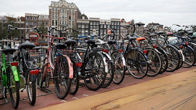 'Het komt er eigenlijk op neer dat geparkeerde fietsen voor overlast zorgen' Beeld anp