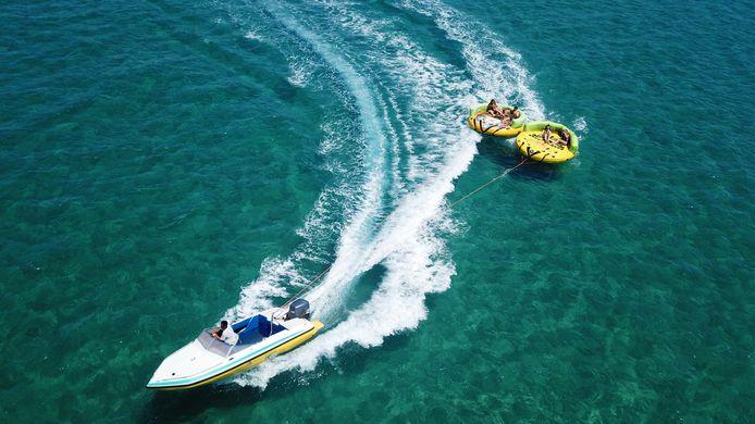 Foto ter illustratie, niet de speedboot in kwestie.