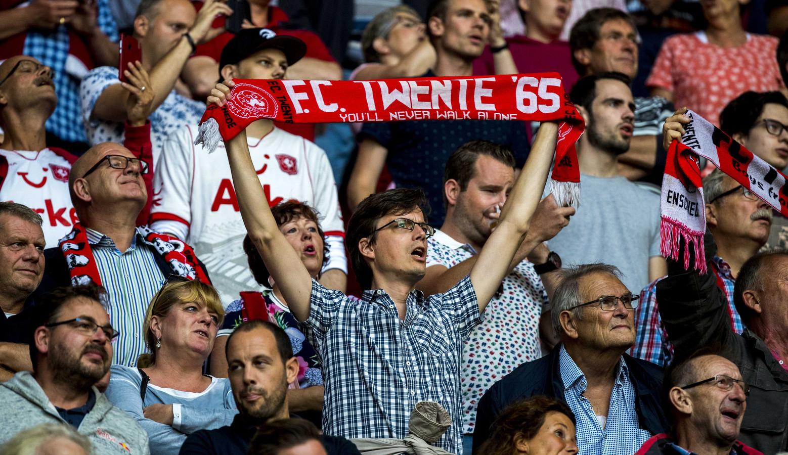 FC Twente supporters  in De Grolsch Veste.