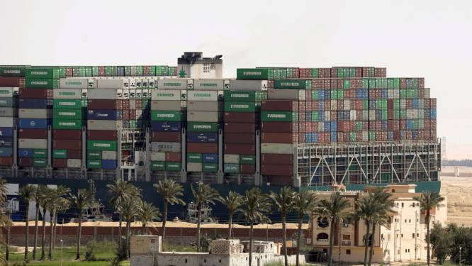 Eigenaar Suezkanaal wil deel van waterweg verbreden na Ever Given-opstropping