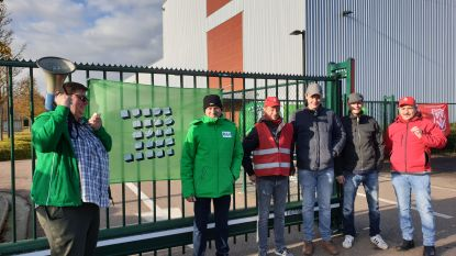 Werknemers van sigarenfabriek Agio leggen werk neer
