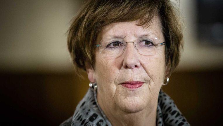 Annemarie Jorritsma volgt Loek Hermans op als voorzitter van de VVD-fractie in de Eerste Kamer Beeld anp
