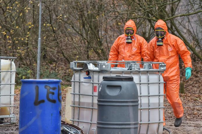Drugsafval gedumpt in Breda
