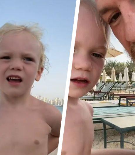 Bizarre peptalk van Conor McGregor aan zoontje (3) zorgt voor ophef: 'Sla hem op z'n gezicht'