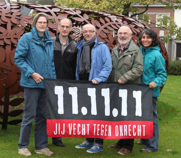 11.11.11 actie in Merelbeke