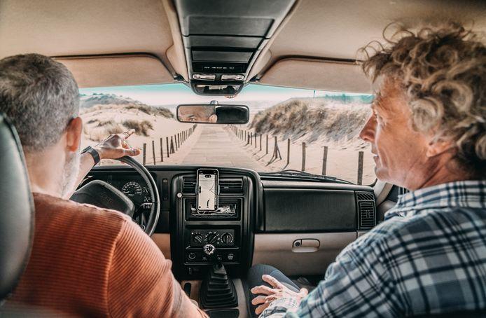 Nederlanders gaan deze zomer het liefst met de auto op vakantie.