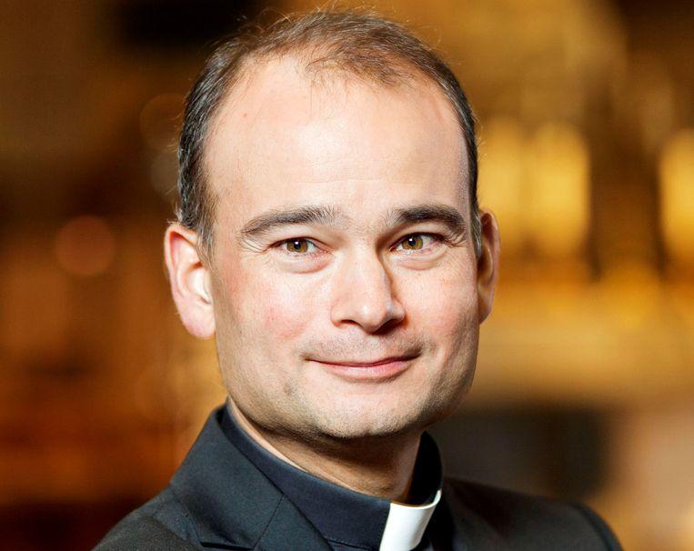 Priester en presentator Roderick Vonhögen Beeld Ineke Oostveen, Hollandse Hoogte