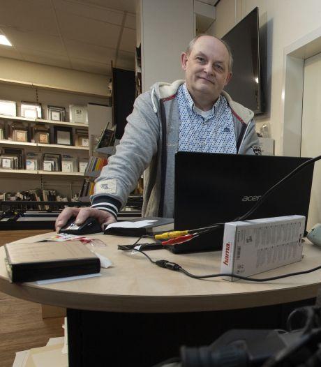 Erik de Just van Foto Vaarhorst Haaksbergen vraagt om hulp deze winter