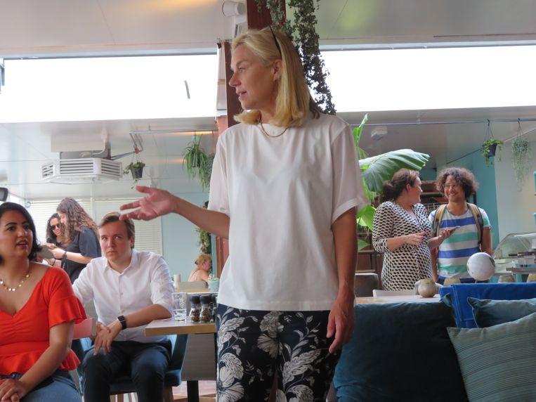 Sigrid Kaag: 'Product van mijn opleiding.' Beeld