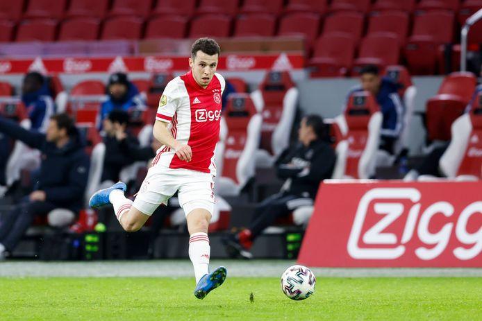 Oussama Idrissi blonk vorig seizoen uit bij AZ, maar komt er bij Ajax nauwelijks aan te pas als huurling.