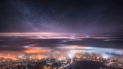 Wondermooi dankzij vrieskou en mist