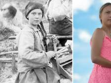 """""""Greta Thunberg voyage dans le temps"""": une photo de 120 ans fait parler d'elle"""